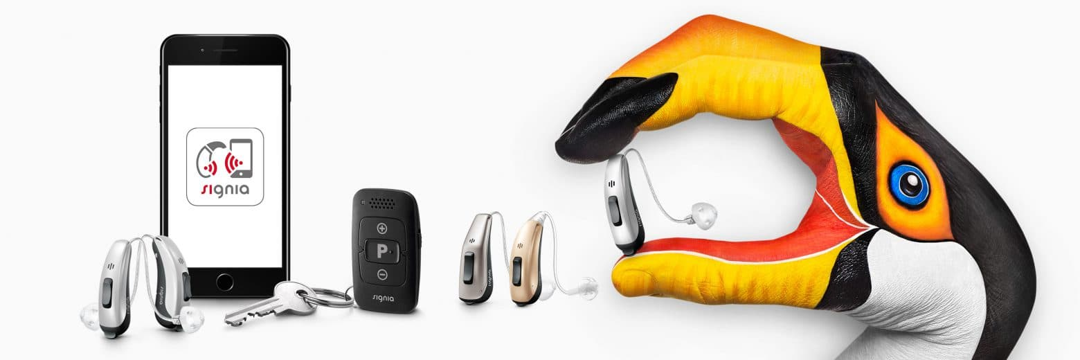 Hearing Dynamics offers a complete line of Signia hearing aids, remotes and apps