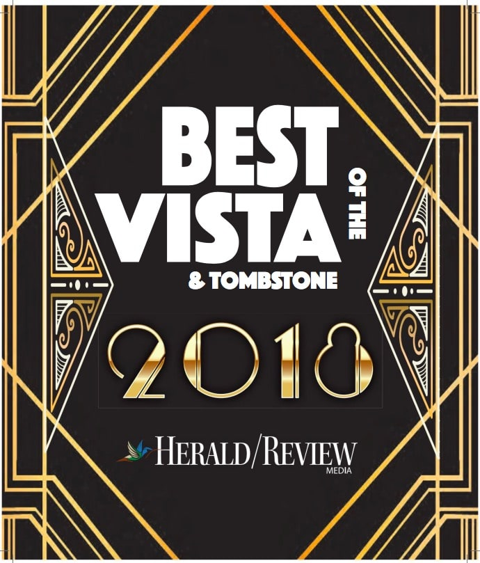 Hearing Dynamics was voted Best of the Vista 2018 1st Place Audiologist