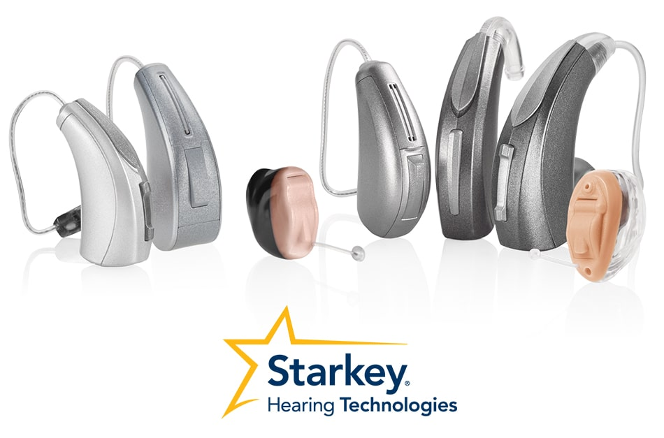 Starkey hearing aids display